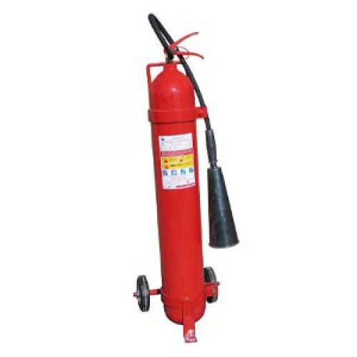 Огнетушитель углекислотный ОУ-10 ВСЕ с тележкой