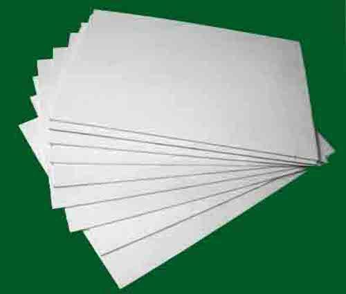 Пластик ПВХ для планов эвакуации, толщ 2 мм, цвет белый, лист 400х600мм