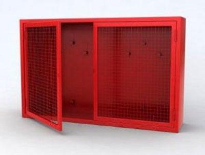 Щит № 4 Пожарный металлический закрытого типа н/укомплект. (1300х1000х300) дверь решетка РАЗБОРНЫЙ