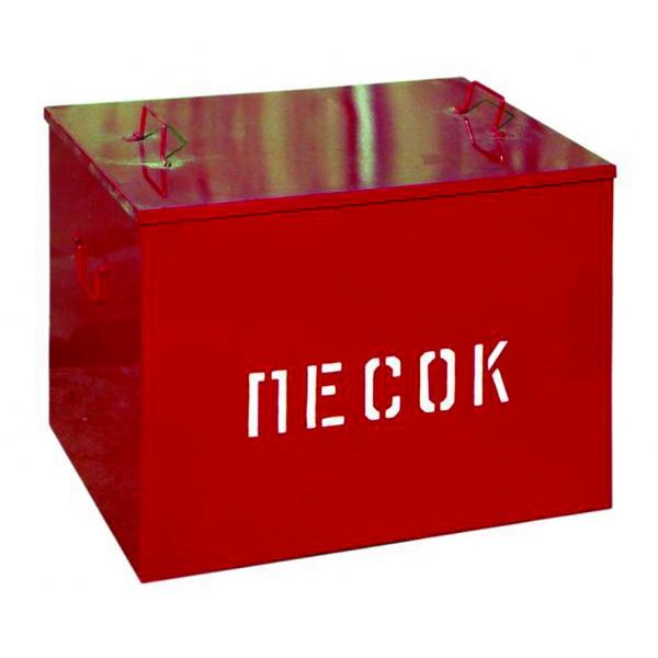 Ящик для песка металлический V=0,1 м3 (сварной) 525*490*480 мм