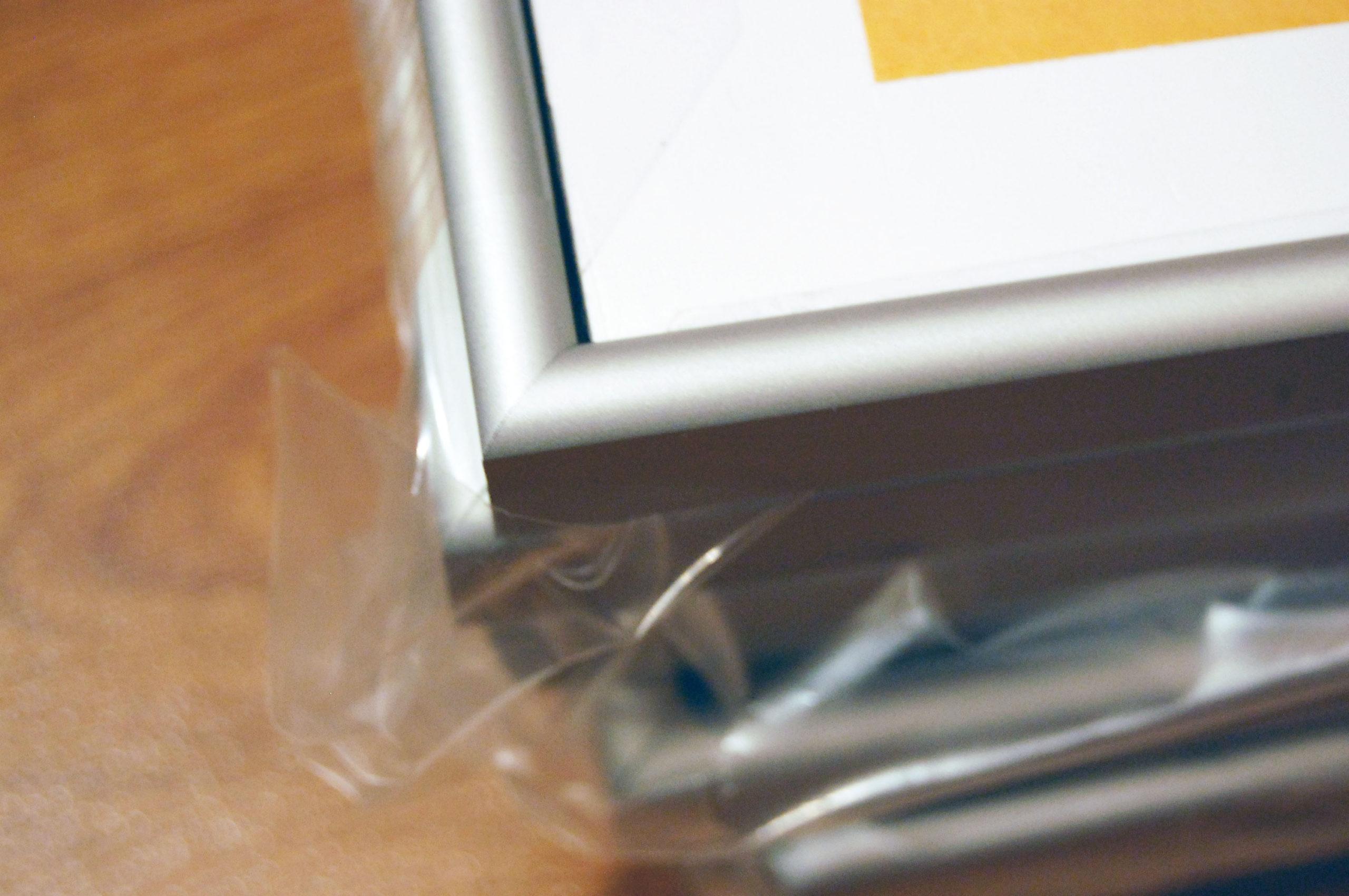 Рамка алюминиевая, размер (внешний) 600*400 мм