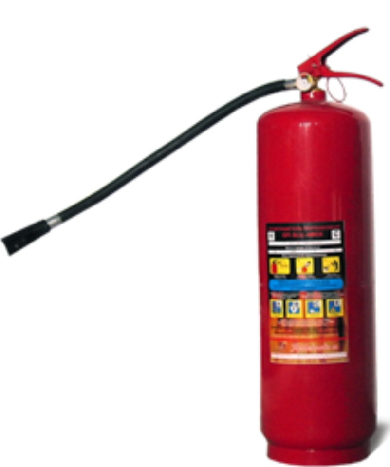 Огнетушитель воздушно-пенный ОВП-100 (заряженный) (темп-ра эксплуатациии от +5 до +50гр)
