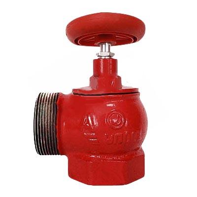 Вентиль КПКМ 65-1 чугунный 90° муфта - цапка