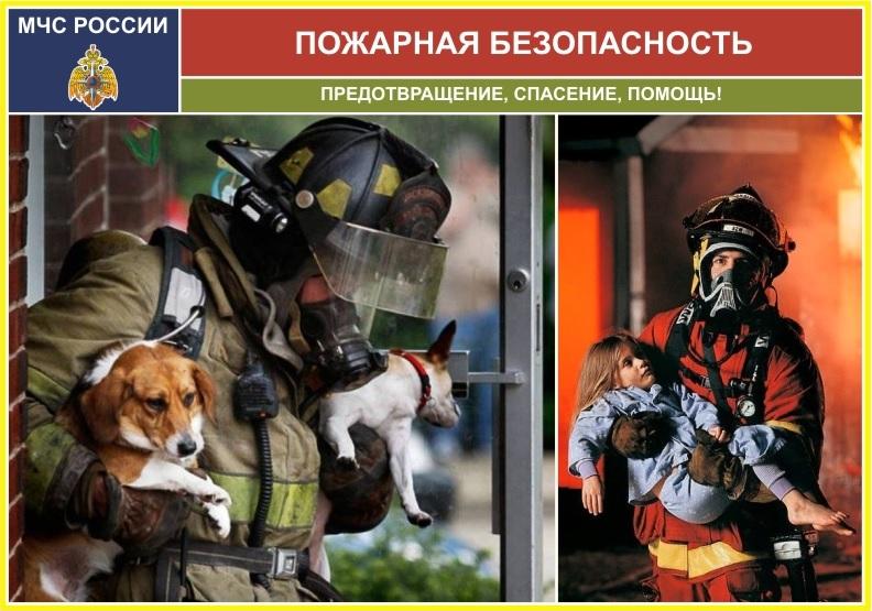 Модуль-заголовок Пожарная безопасность 240х340мм